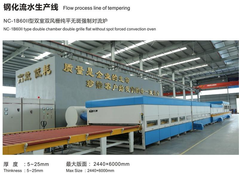 钢化流水生产线