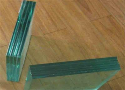 钢化夹层玻璃样品